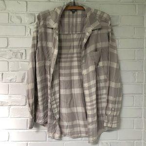 Aerie Super Soft Button Down Flannel